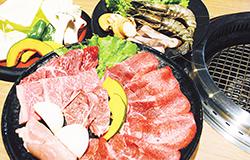 海鮮肉盛りセット
